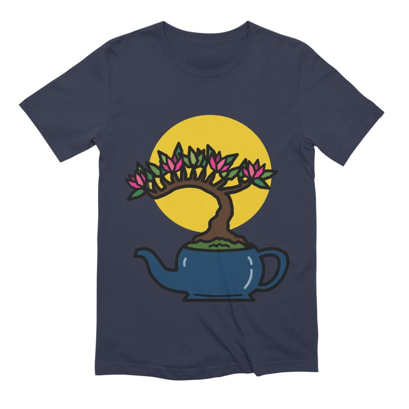 Bonsai Tree - #5 Men's Extra Soft T-Shirt by LadyBaigStudio's Artist Shop