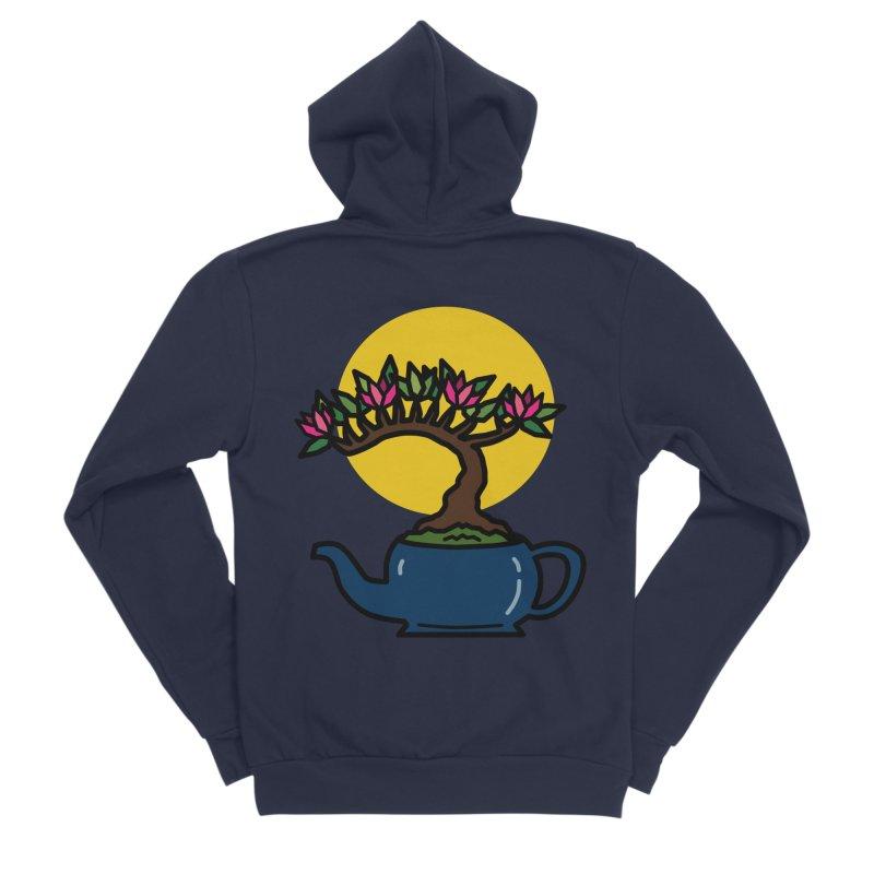 Bonsai Tree - #5 Men's Sponge Fleece Zip-Up Hoody by LadyBaigStudio's Artist Shop