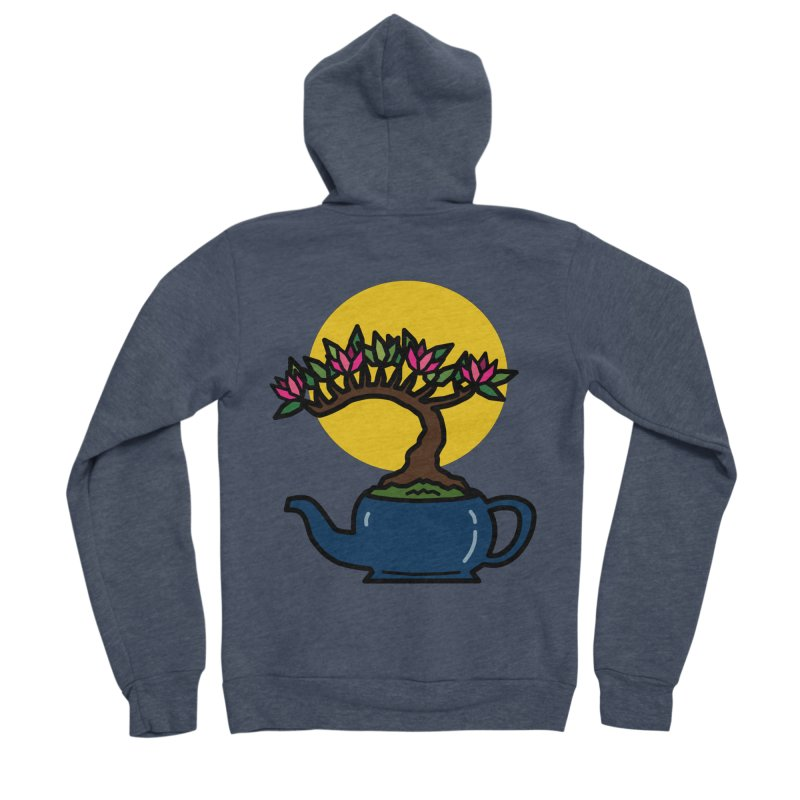 Bonsai Tree - #5 Women's Sponge Fleece Zip-Up Hoody by LadyBaigStudio's Artist Shop