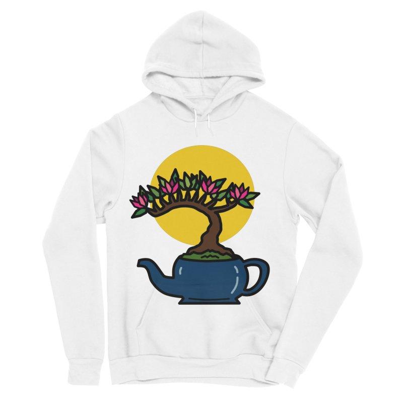 Bonsai Tree - #5 Men's Sponge Fleece Pullover Hoody by LadyBaigStudio's Artist Shop