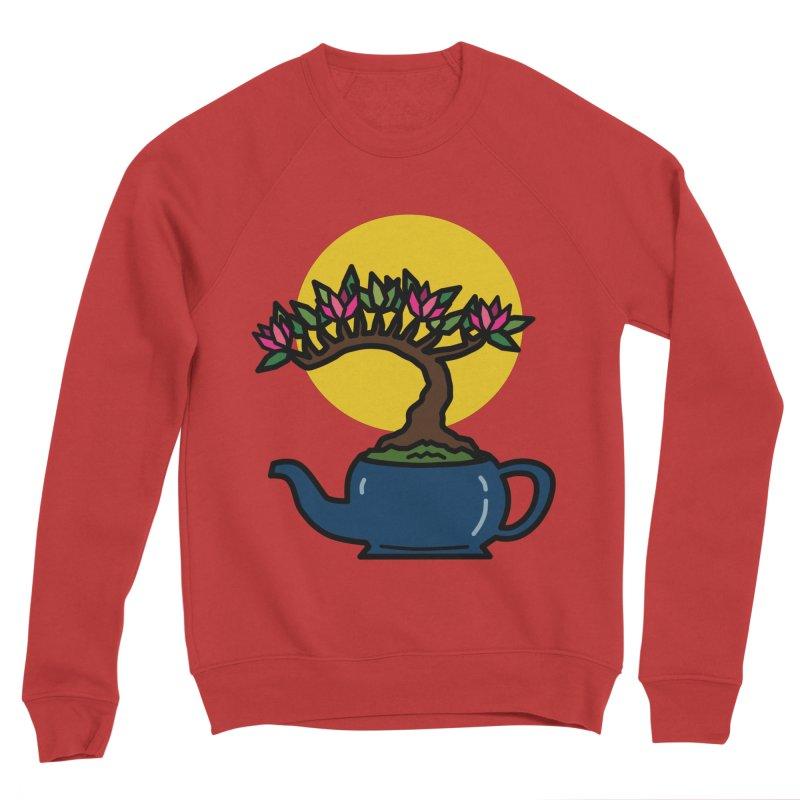Bonsai Tree - #5 Men's Sponge Fleece Sweatshirt by LadyBaigStudio's Artist Shop