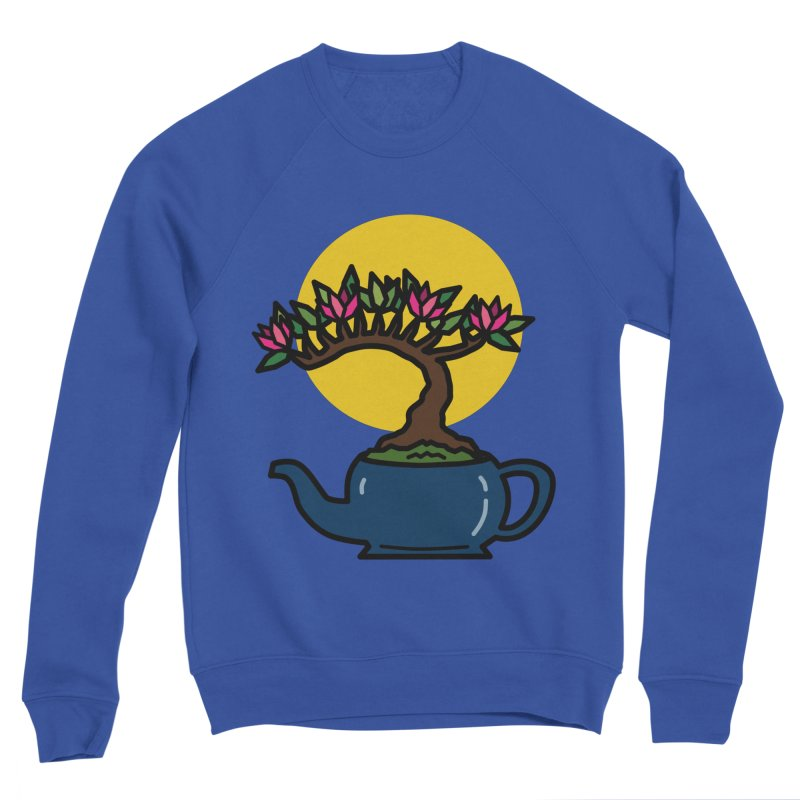 Bonsai Tree - #5 Men's Sweatshirt by LadyBaigStudio's Artist Shop