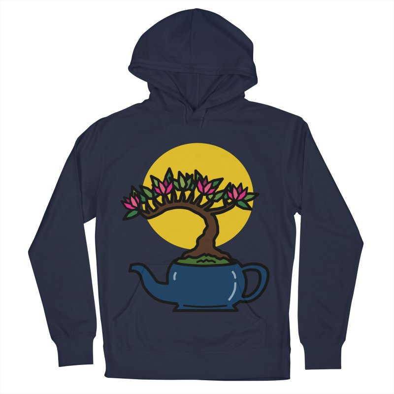 Bonsai Tree - #5 Women's French Terry Pullover Hoody by LadyBaigStudio's Artist Shop