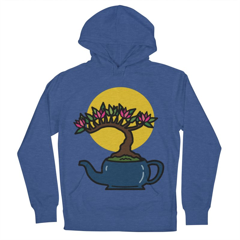 Bonsai Tree - #5 Men's French Terry Pullover Hoody by LadyBaigStudio's Artist Shop