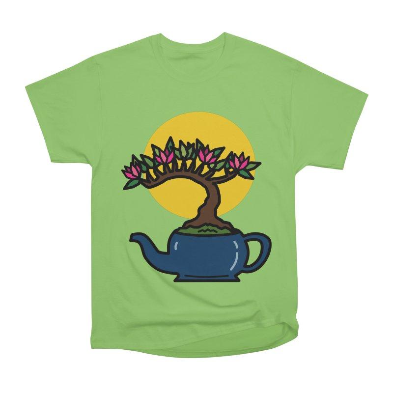 Bonsai Tree - #5 Men's Heavyweight T-Shirt by LadyBaigStudio's Artist Shop