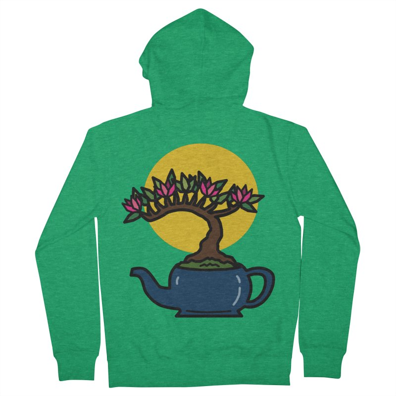 Bonsai Tree - #5 Women's Zip-Up Hoody by LadyBaigStudio's Artist Shop
