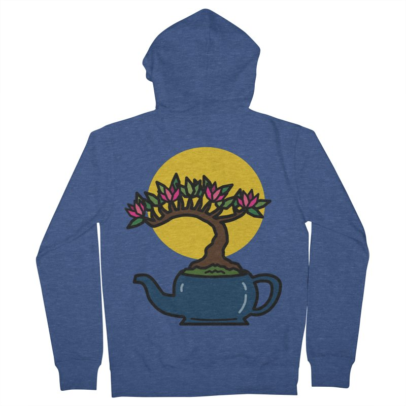 Bonsai Tree - #5 Women's French Terry Zip-Up Hoody by LadyBaigStudio's Artist Shop