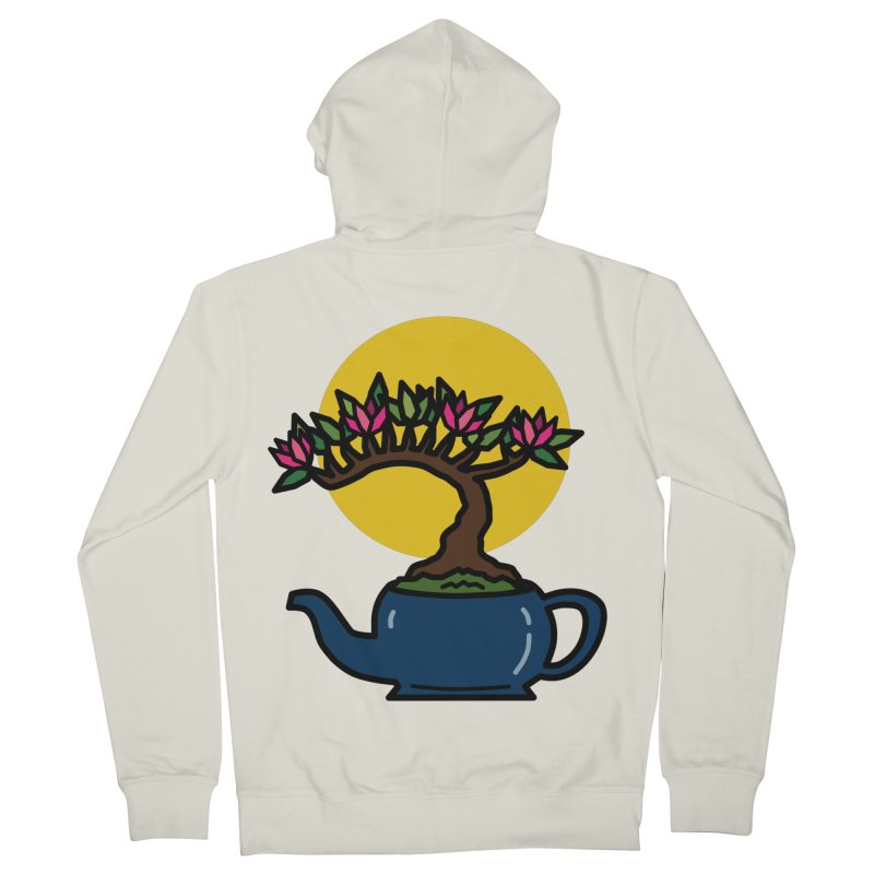 Bonsai Tree - #5 Women's French Terry Zip-Up Hoody by LadyBaigStudio's Artist Shop