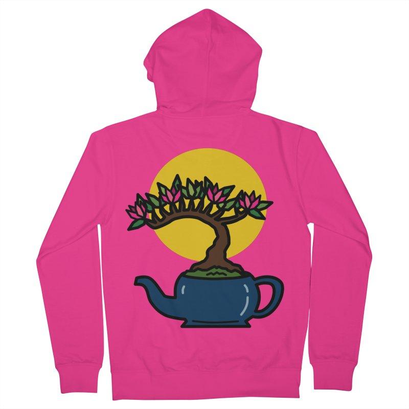 Bonsai Tree - #5 Men's French Terry Zip-Up Hoody by LadyBaigStudio's Artist Shop