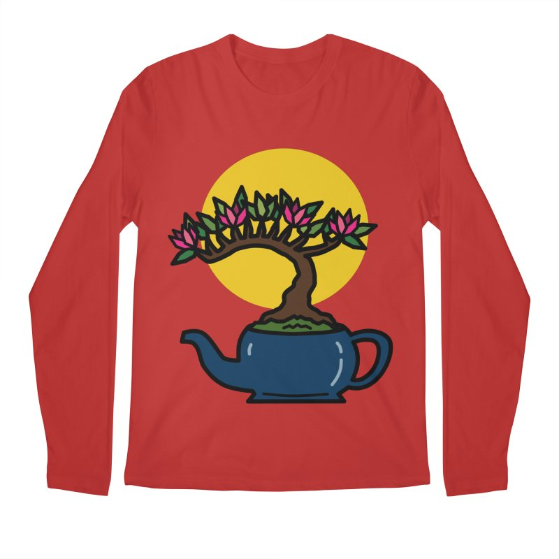 Bonsai Tree - #5 Men's Regular Longsleeve T-Shirt by LadyBaigStudio's Artist Shop