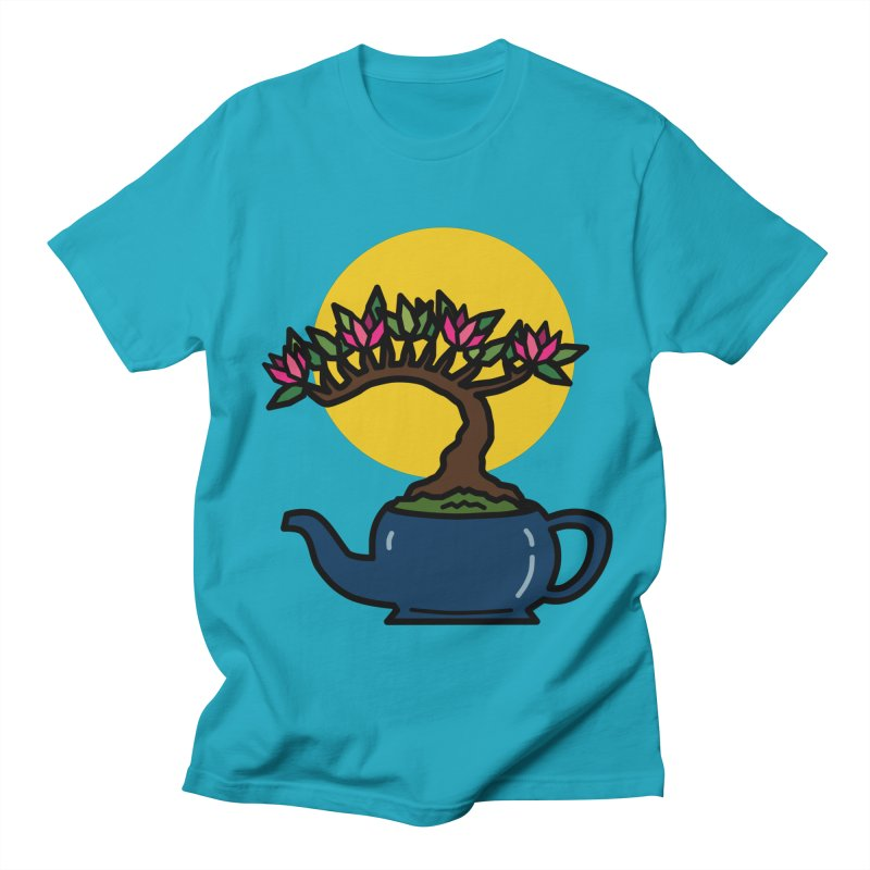 Bonsai Tree - #5 Men's Regular T-Shirt by LadyBaigStudio's Artist Shop