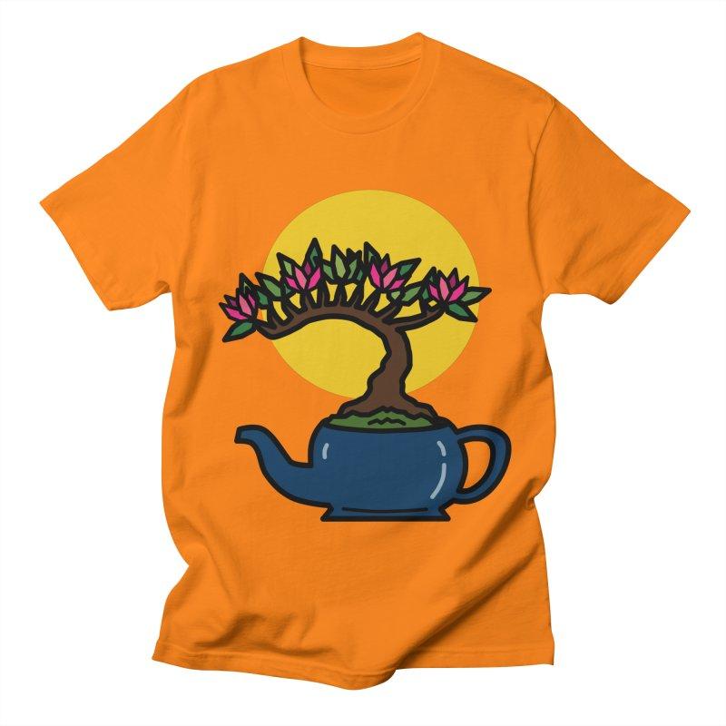 Bonsai Tree - #5 Women's Regular Unisex T-Shirt by LadyBaigStudio's Artist Shop