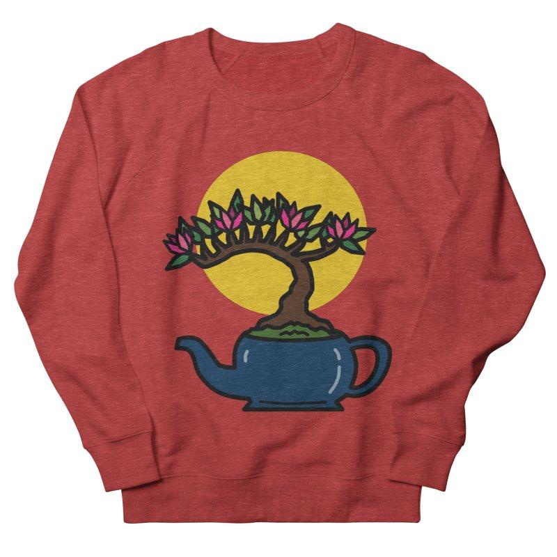 Bonsai Tree - #5 Women's French Terry Sweatshirt by LadyBaigStudio's Artist Shop