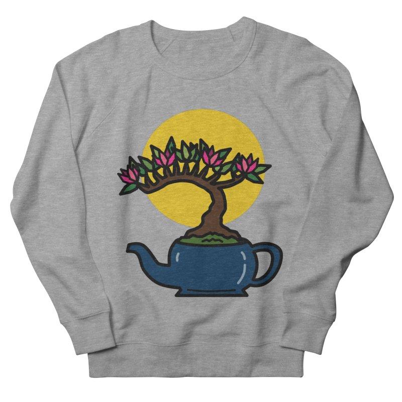 Bonsai Tree - #5 Men's French Terry Sweatshirt by LadyBaigStudio's Artist Shop