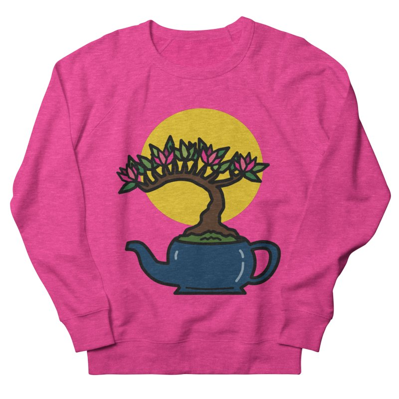 Bonsai Tree - #5 Men's French Terry Sweatshirt by LadyBaigStudio's Artist Shop