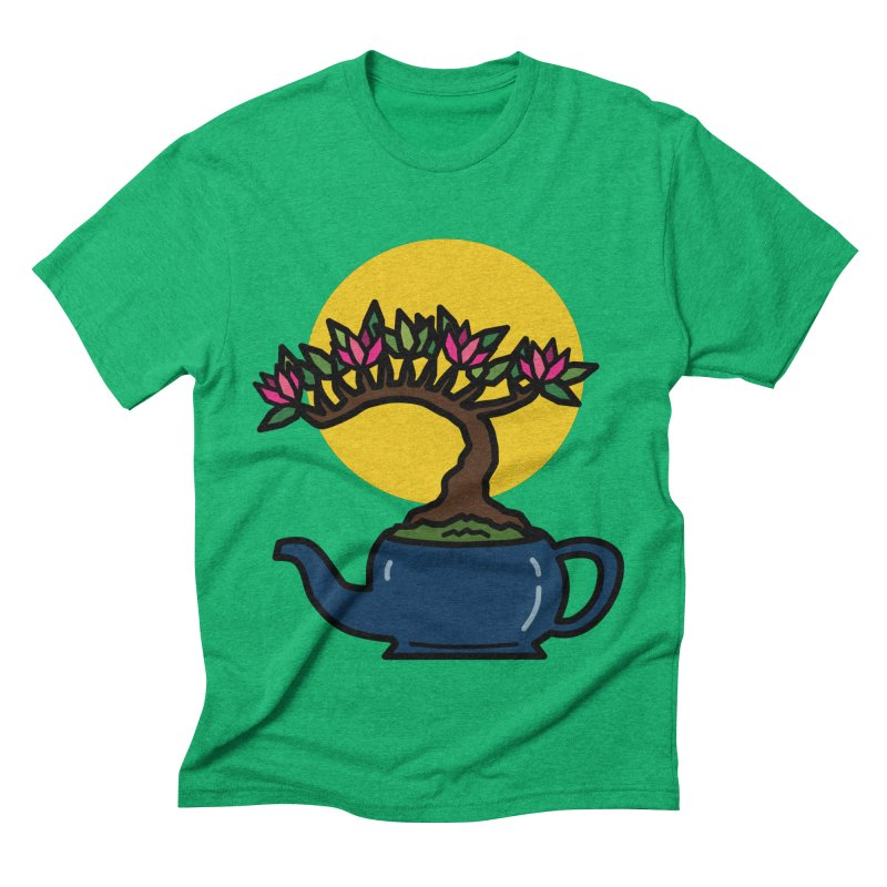 Bonsai Tree - #5 Men's Triblend T-Shirt by LadyBaigStudio's Artist Shop