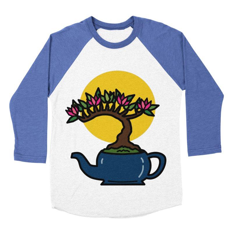 Bonsai Tree - #5 Women's Baseball Triblend Longsleeve T-Shirt by LadyBaigStudio's Artist Shop