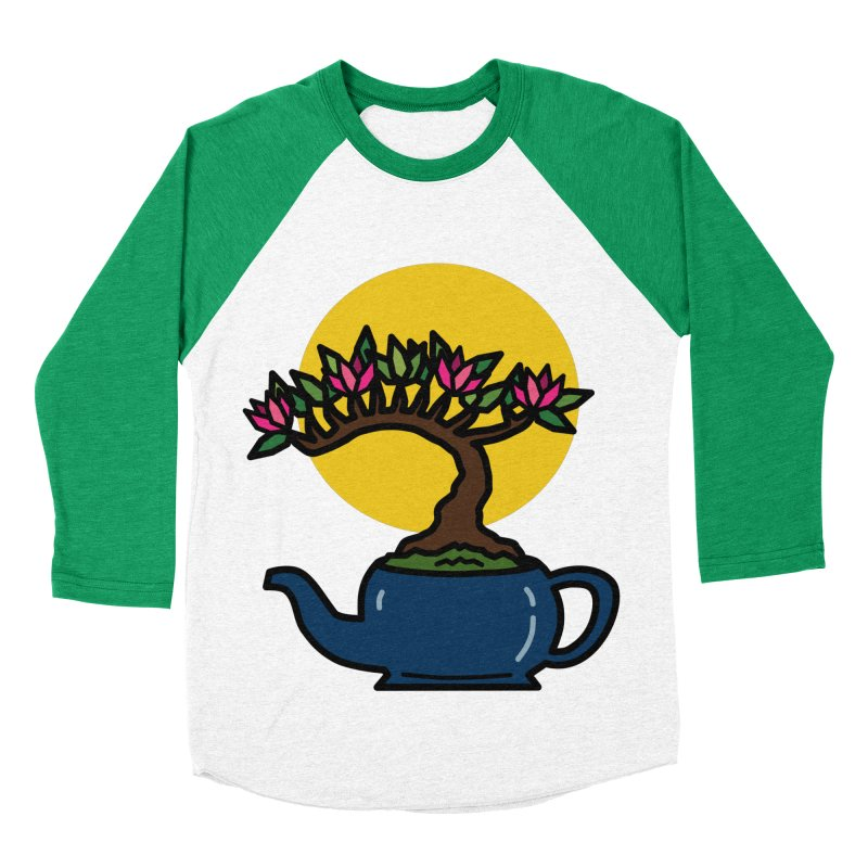 Bonsai Tree - #5 Men's Baseball Triblend Longsleeve T-Shirt by LadyBaigStudio's Artist Shop
