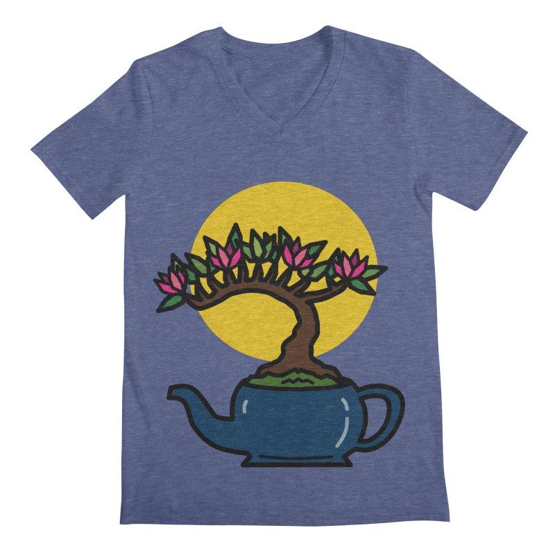 Bonsai Tree - #5 Men's Regular V-Neck by LadyBaigStudio's Artist Shop