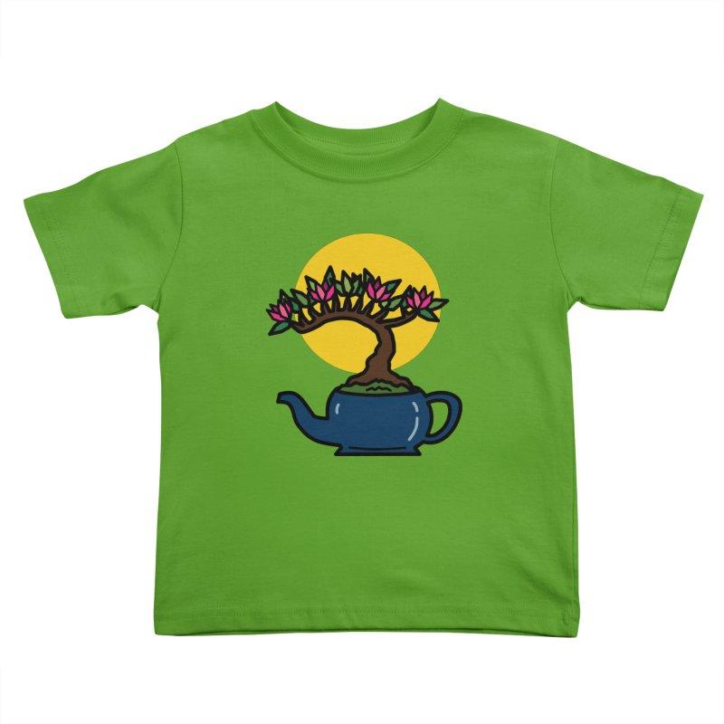 Bonsai Tree - #5 Kids Toddler T-Shirt by LadyBaigStudio's Artist Shop