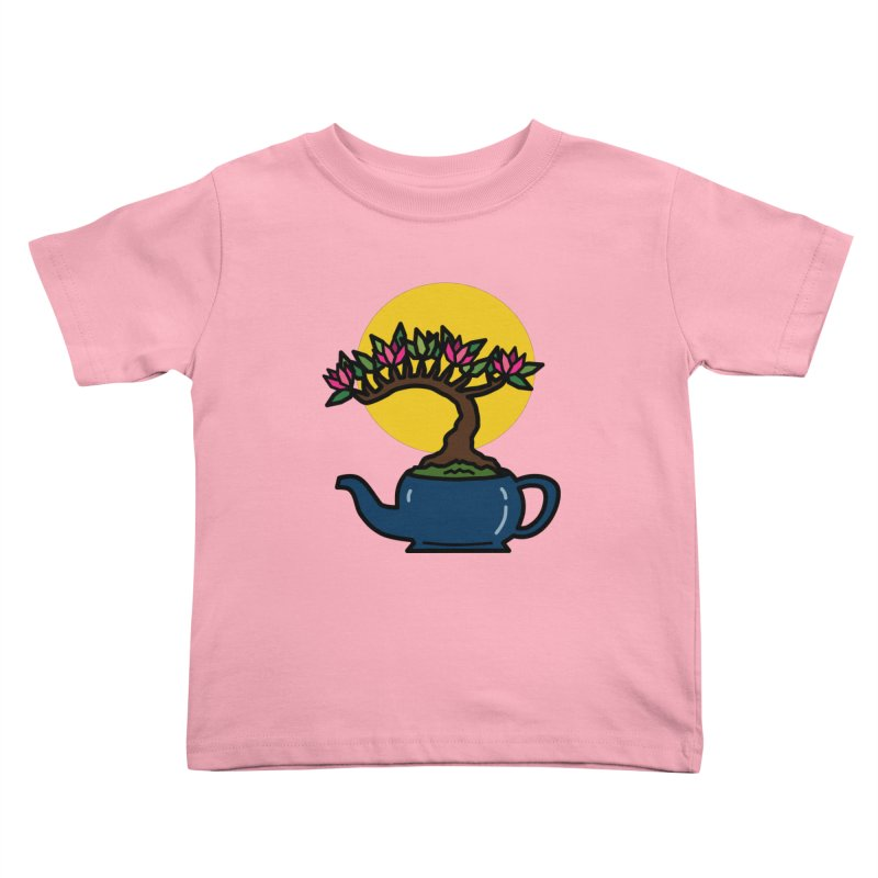 Bonsai Tree - #5 Kids Toddler T-Shirt by LadyBaigStudio's Artist Shop