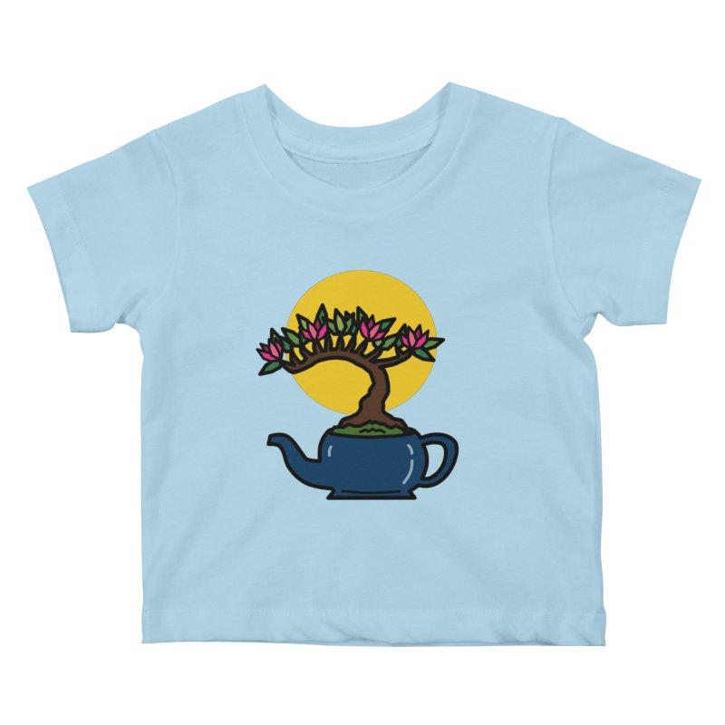 Bonsai Tree - #5 Kids Baby T-Shirt by LadyBaigStudio's Artist Shop