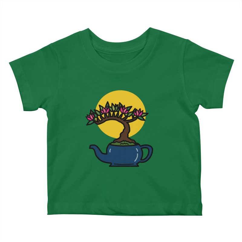 Bonsai Tree - #5 Kids Baby T-Shirt by LadyBaigStudio's Artist Shop
