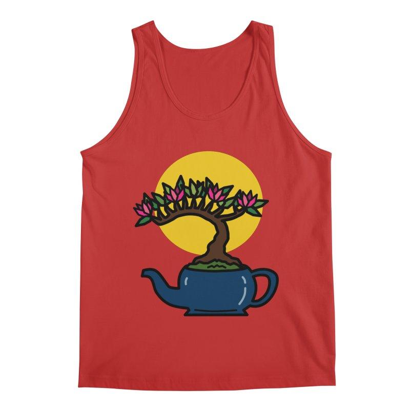 Bonsai Tree - #5 Men's Tank by LadyBaigStudio's Artist Shop
