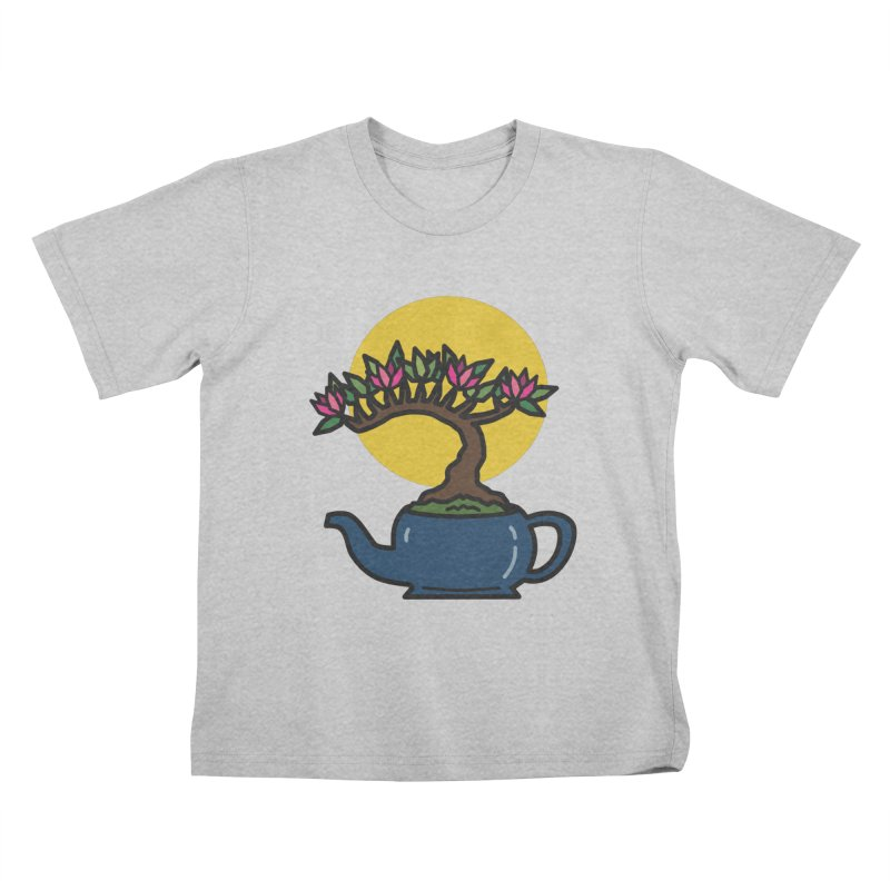 Bonsai Tree - #5 Kids T-Shirt by LadyBaigStudio's Artist Shop