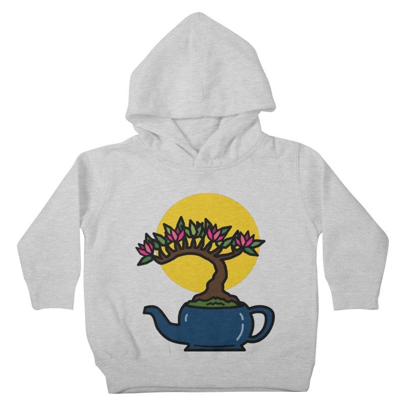 Bonsai Tree - #5 Kids Toddler Pullover Hoody by LadyBaigStudio's Artist Shop