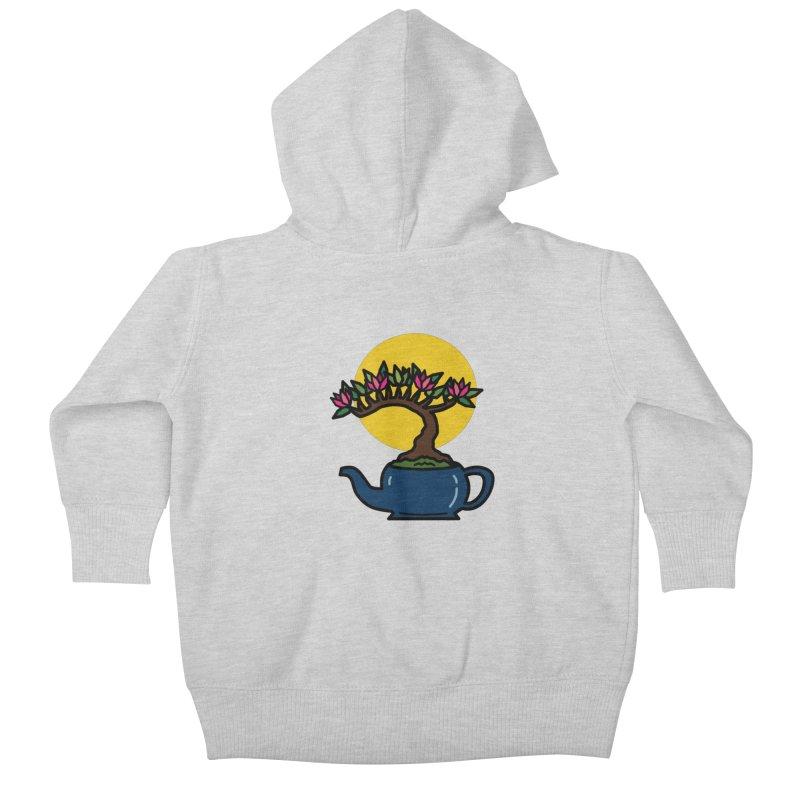 Bonsai Tree - #5 Kids Baby Zip-Up Hoody by LadyBaigStudio's Artist Shop