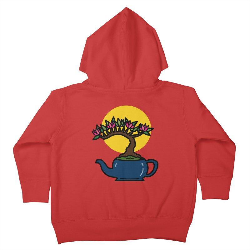 Bonsai Tree - #5 Kids Toddler Zip-Up Hoody by LadyBaigStudio's Artist Shop