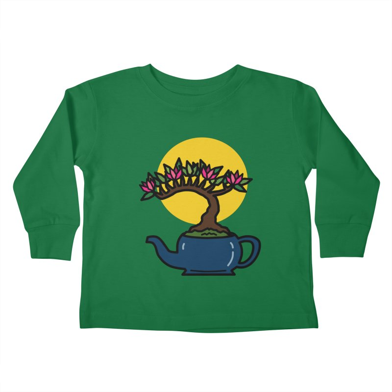 Bonsai Tree - #5 Kids Toddler Longsleeve T-Shirt by LadyBaigStudio's Artist Shop