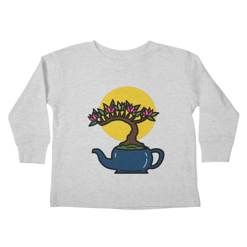 Bonsai Tree - #5 Kids Toddler Longsleeve T-Shirt by LadyBaigStudio's Artist Shop