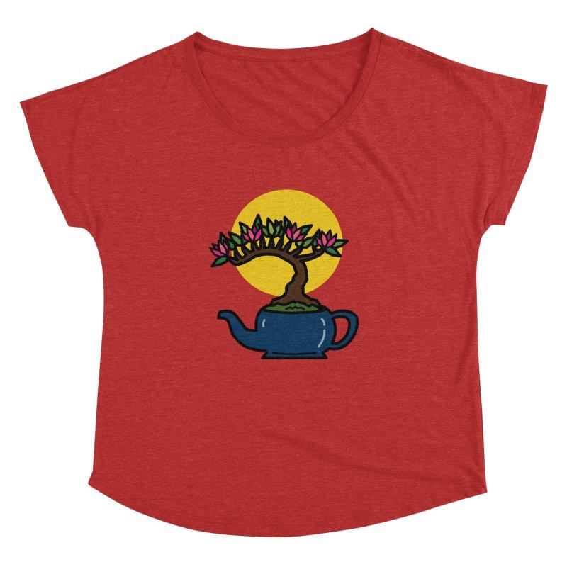 Bonsai Tree - #5 Women's Dolman Scoop Neck by LadyBaigStudio's Artist Shop