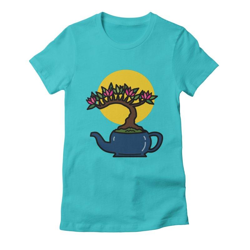 Bonsai Tree - #5 Women's T-Shirt by LadyBaigStudio's Artist Shop