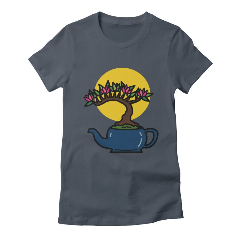 Bonsai Tree - #5 Women's T-Shirt by LadyBaigStudio's Artist Shop