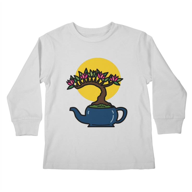 Bonsai Tree - #5 Kids Longsleeve T-Shirt by LadyBaigStudio's Artist Shop