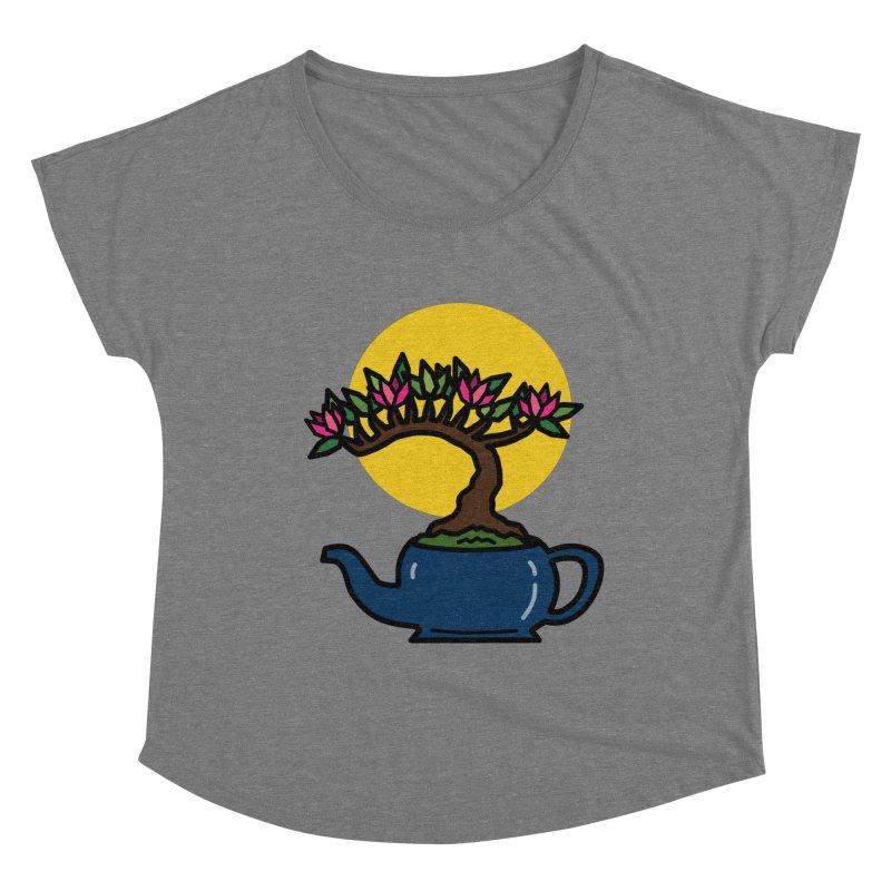 Bonsai Tree - #5 Women's Scoop Neck by LadyBaigStudio's Artist Shop