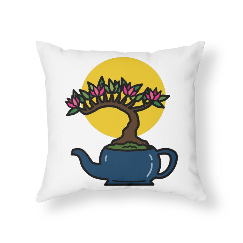 Bonsai Tree - #5 Home Throw Pillow by LadyBaigStudio's Artist Shop
