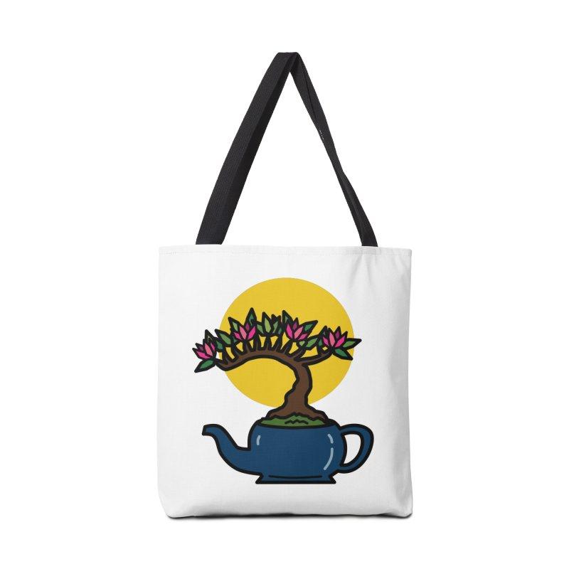 Bonsai Tree - #5 Accessories Bag by LadyBaigStudio's Artist Shop