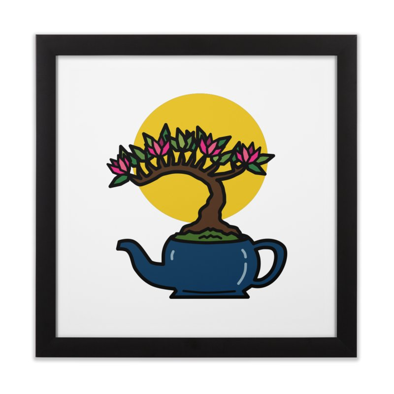 Bonsai Tree - #5 Home Framed Fine Art Print by LadyBaigStudio's Artist Shop