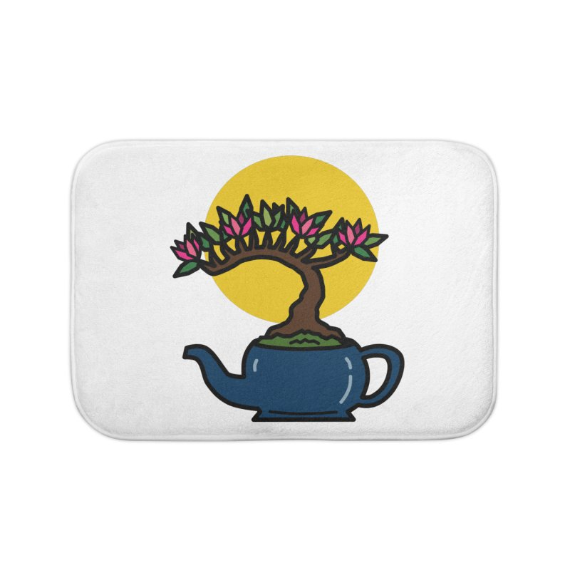 Bonsai Tree - #5 Home Bath Mat by LadyBaigStudio's Artist Shop