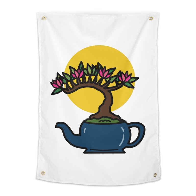 Bonsai Tree - #5 Home Tapestry by LadyBaigStudio's Artist Shop