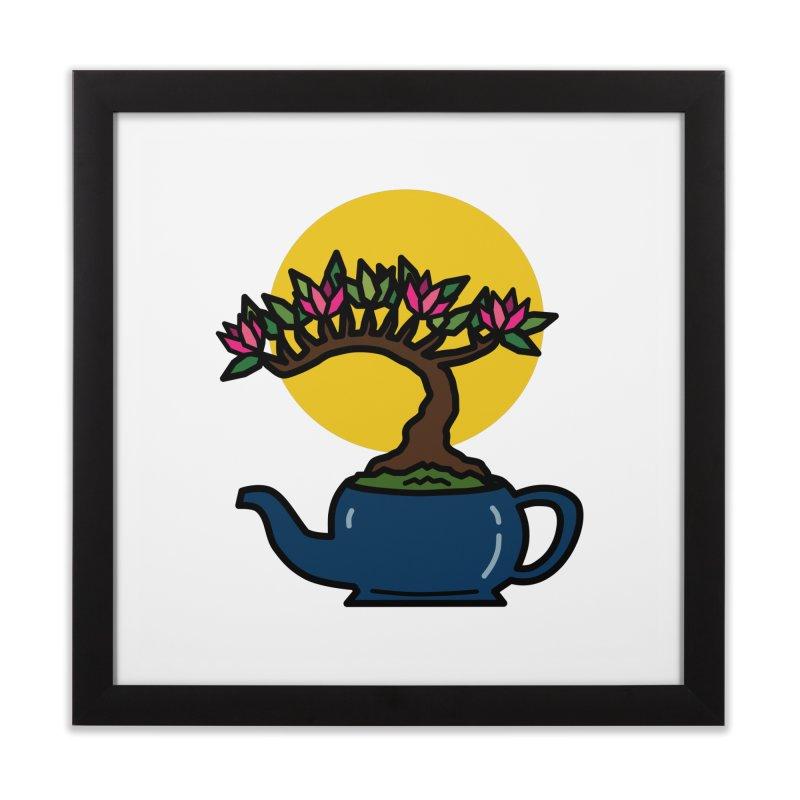 Bonsai Tree - #5 Home Framed Fine Art Print by LadyBaigStudio's Artist Shop