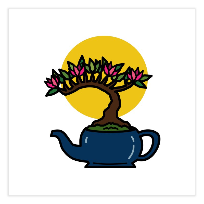 Bonsai Tree - #5 Home Fine Art Print by LadyBaigStudio's Artist Shop