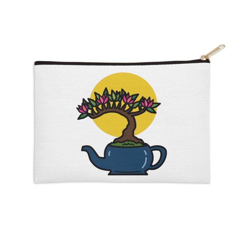 Bonsai Tree - #5 Accessories Zip Pouch by LadyBaigStudio's Artist Shop