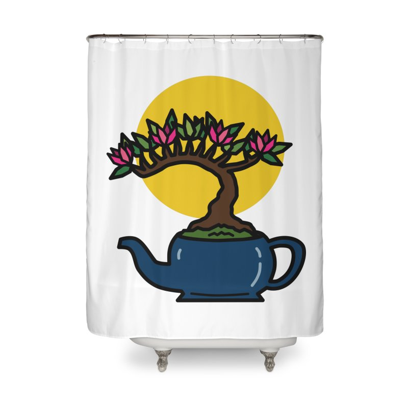 Bonsai Tree - #5 Home Shower Curtain by LadyBaigStudio's Artist Shop