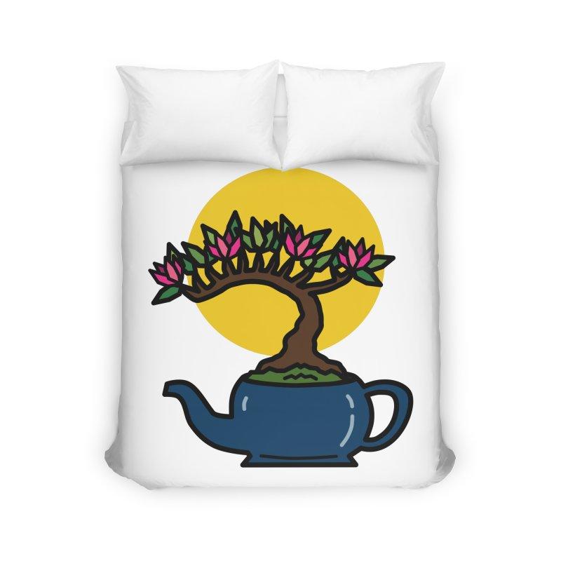 Bonsai Tree - #5 Home Duvet by LadyBaigStudio's Artist Shop