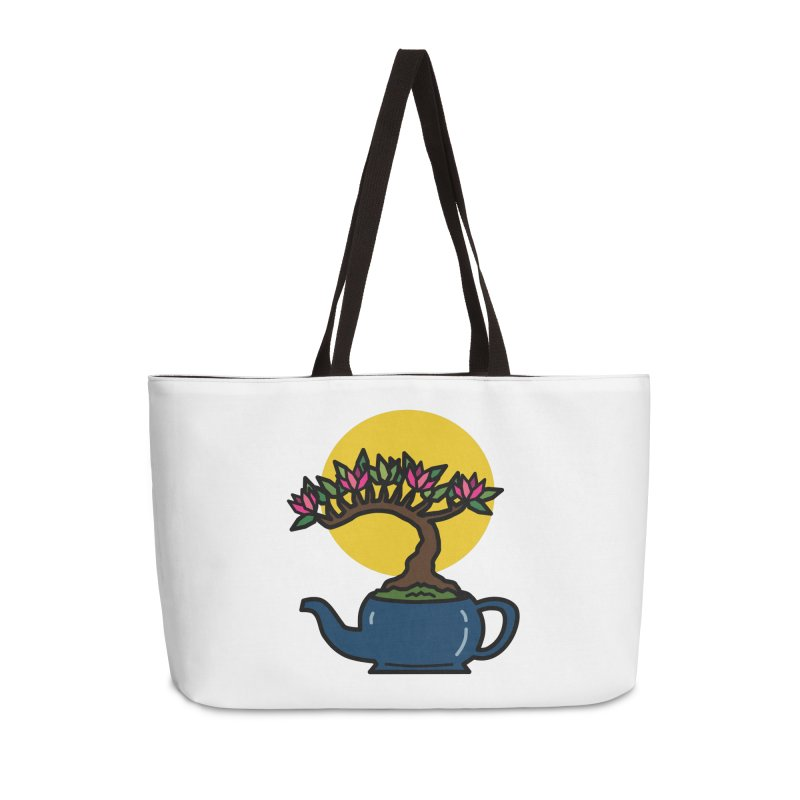 Bonsai Tree - #5 Accessories Bag by LadyBaigStudio's Artist Shop